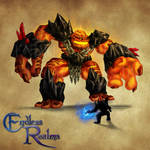 Endless Realms bestiary - Fire Giant