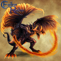 Endless Realms bestiary - Balaur by jocarra