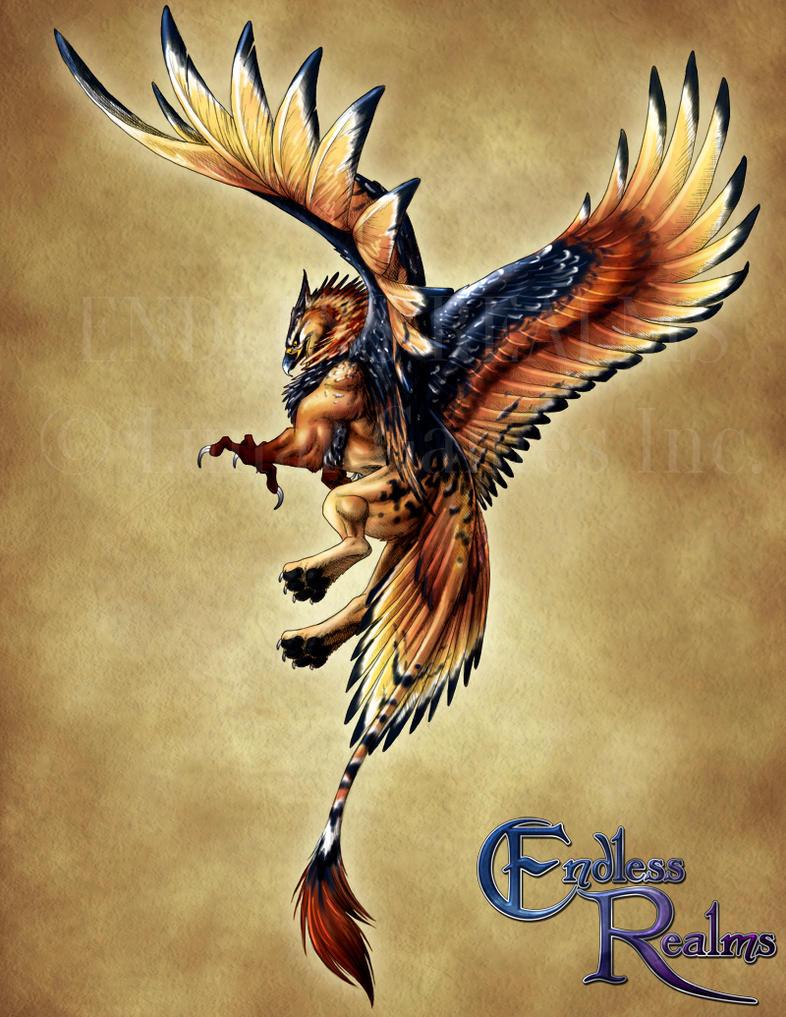 Endless Realms bestiary - Griffon by jocarra on DeviantArt
