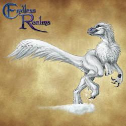 Endless Realms bestiary - Snow Raptor