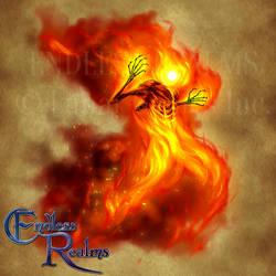 Endless Realms bestiary - Fire Golem