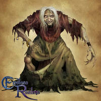 Endless Realms bestiary - Hag by jocarra