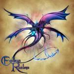 Endless Realms bestiary - Psionic Dragon