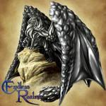 Endless Realms bestiary - Hematite Dragon