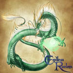 Endless Realms bestiary - Jade Dragon