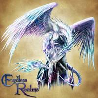 Endless Realms bestiary - Prismatic Dragon by jocarra