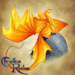 Endless Realms bestiary - Citrine Dragon
