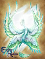 Endless Realms bestiary - Air Dragon Scion by jocarra