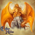Endless Realms bestiary - Amber Dragon