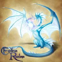 Endless Realms bestiary - Topaz Dragon by jocarra