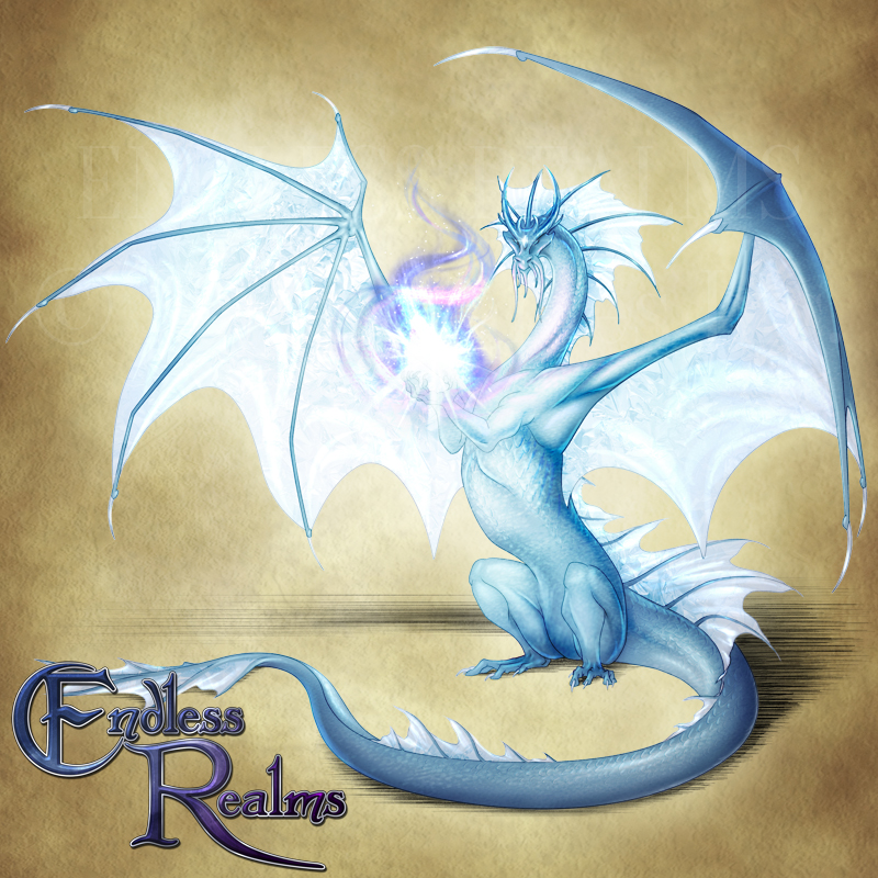 Endless Realms bestiary - Topaz Dragon