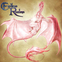 Endless Realms bestiary - Rose Quartz Dragon by jocarra