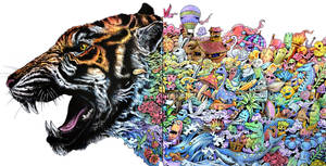 Animorphia Tiger