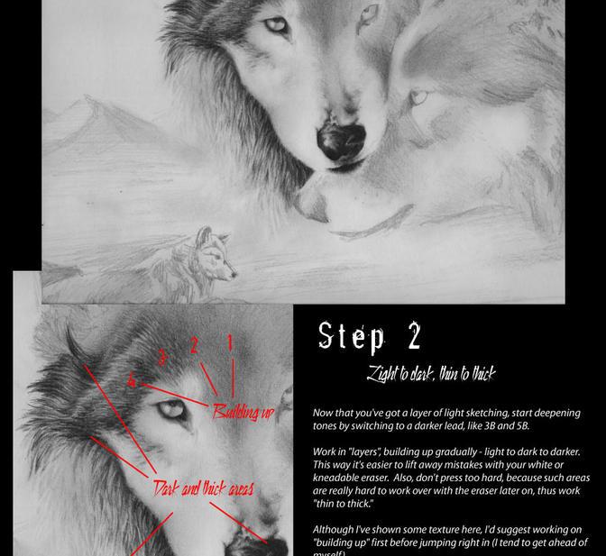 Jen's graphite tutorial by jocarra