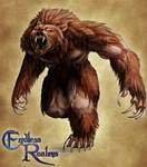 Endless Realms bestiary - Werebear