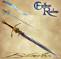 Endless Realms - Blades by jocarra