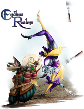 Endless Realms player class - Bard/Jester