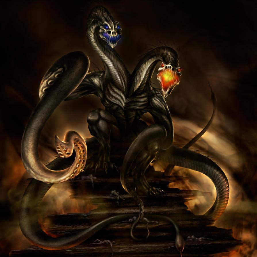 Commission - Demogorgon, God of Demons by jocarra