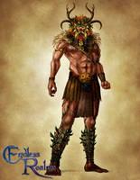 Endless Realms bestiary - Cernunnos by jocarra