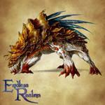 Endless Realms bestiary - Myconid Beast