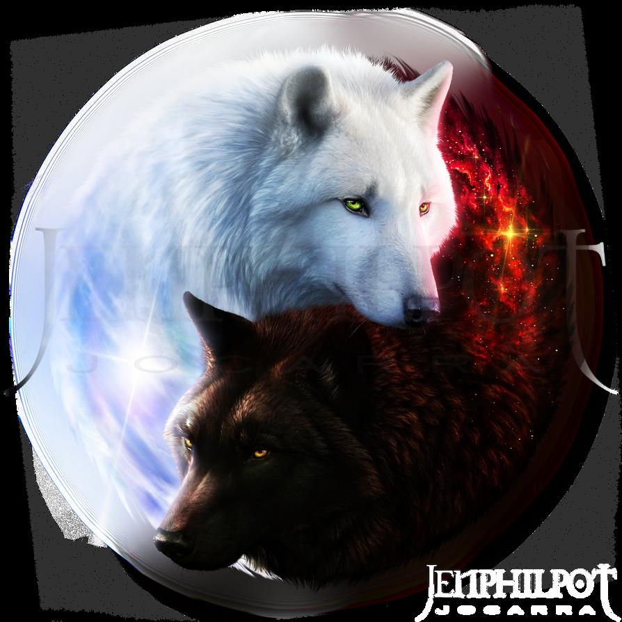Commission: Wolf Mates...