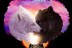 Commission - Wolf Mates XI