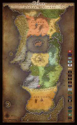 Map of Ca'Lier v4