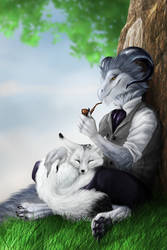 Commission - Feran and Miko by jocarra