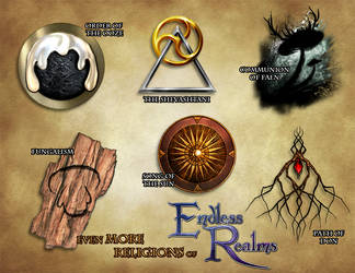 Endless Realms - Even More Religious Icons by jocarra