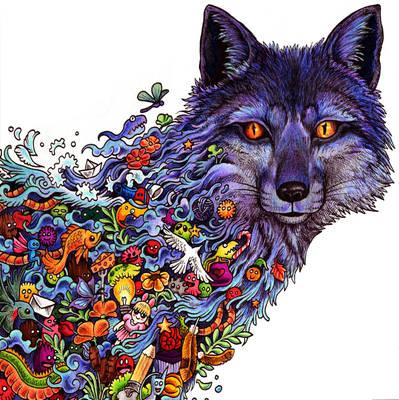 Animorphia Fox