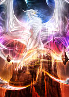 Commission - Raedon, Avatar of Confluence