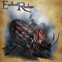 Endless Realms - Armoured War Beetle