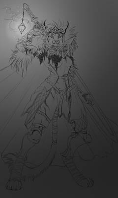 Kingdom Death - Ash (sketch)