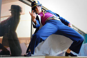 Jotaro Kujo by NiGHTmaren-Cosplay