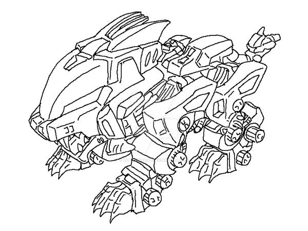 liger coloring pages - photo #10