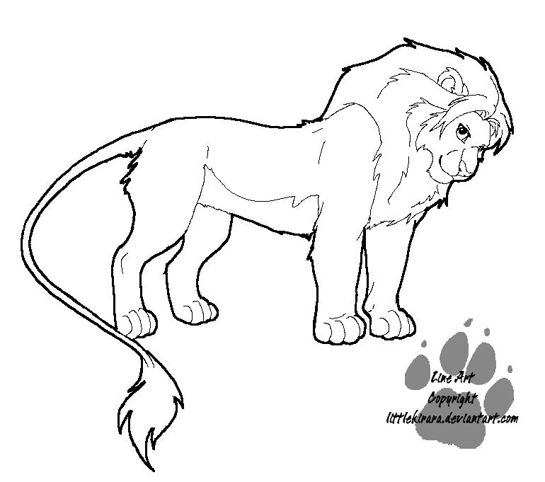 Line Art Of Lion : Top tlk cubs images for pinterest tattoos