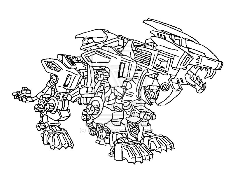 liger coloring pages - photo #6