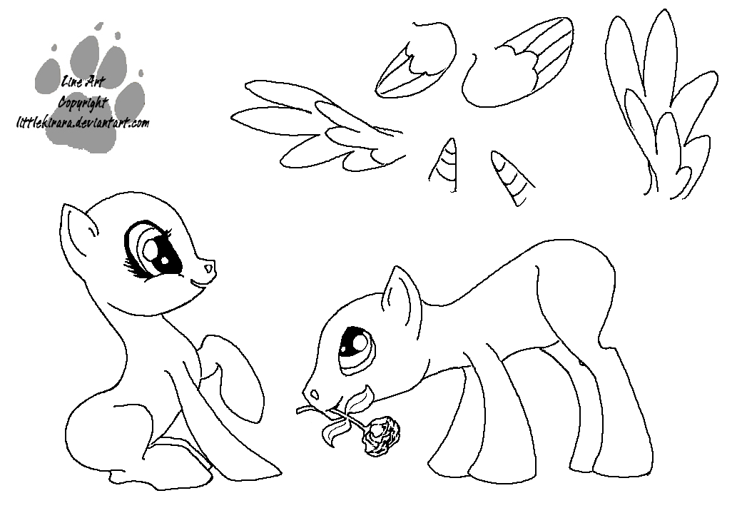 Mlp Ms Paint Coloring Coloring Pages