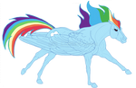 Rainbow Dash: Thoroughbred