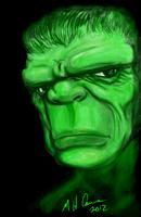live graffiti hulk