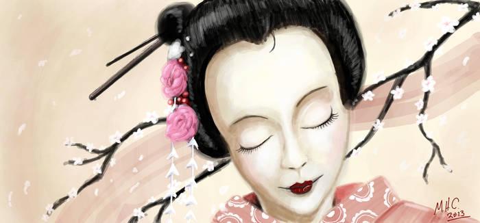 Graffiti Geisha