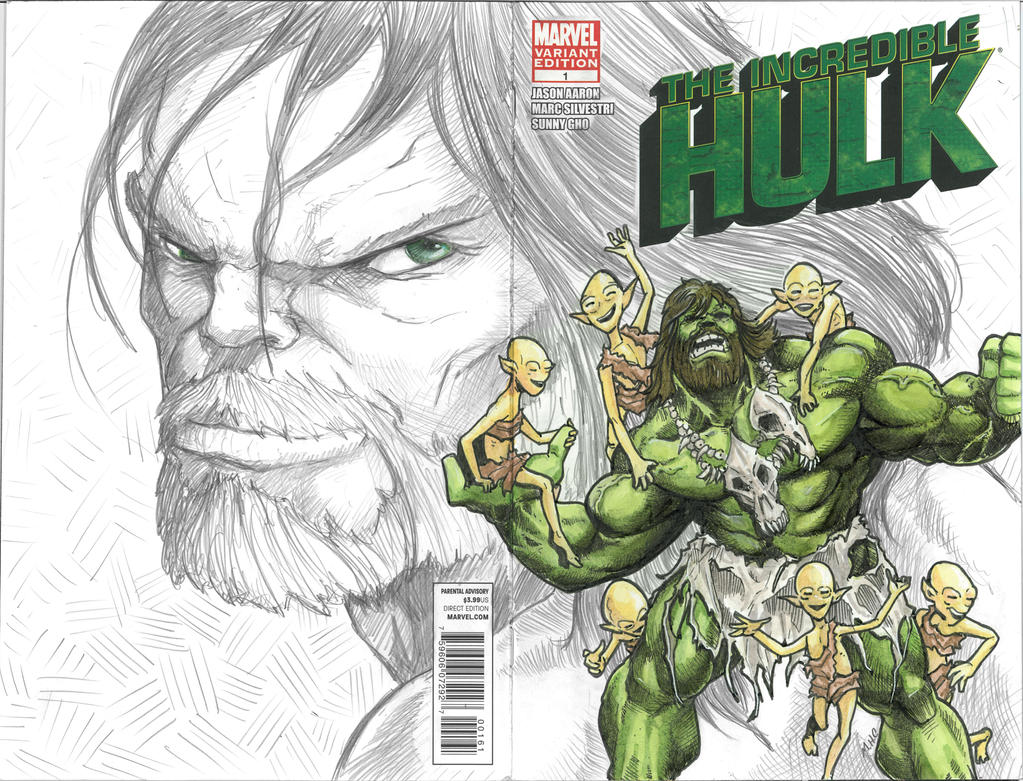 Hulk MHC variant by artildawn