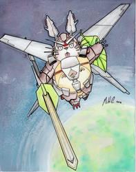 Gundam Totoro by artildawn