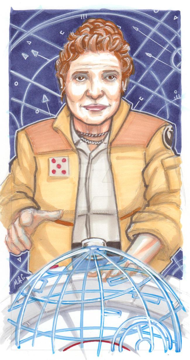 General Leia by artildawn