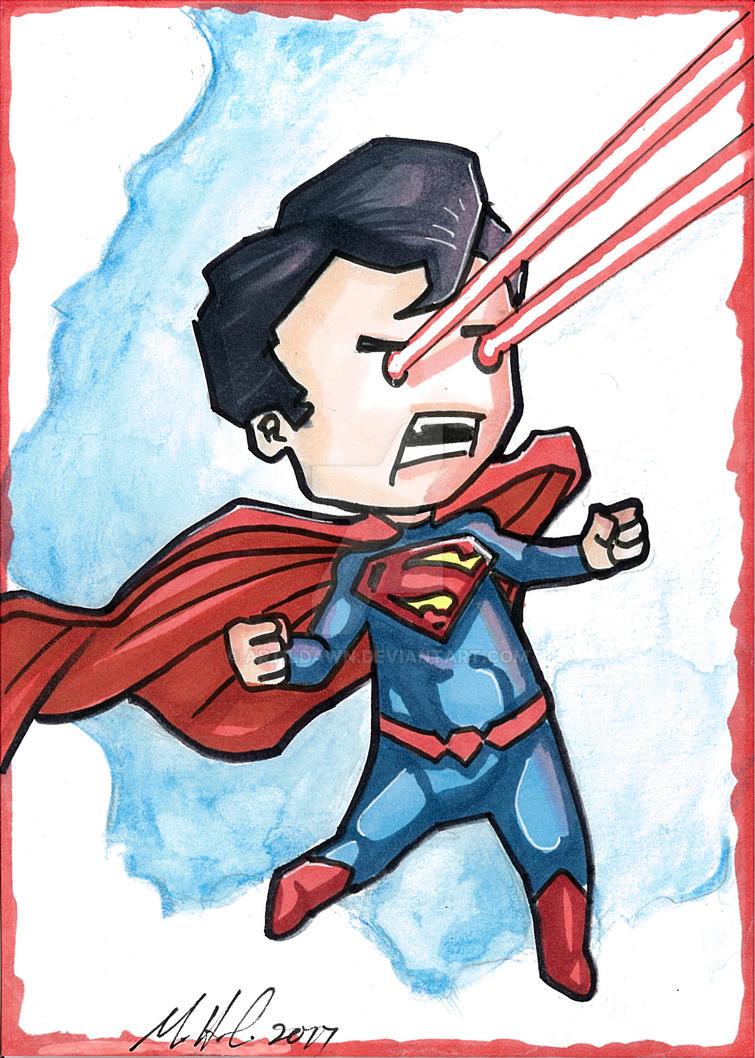Chibi-superman by artildawn
