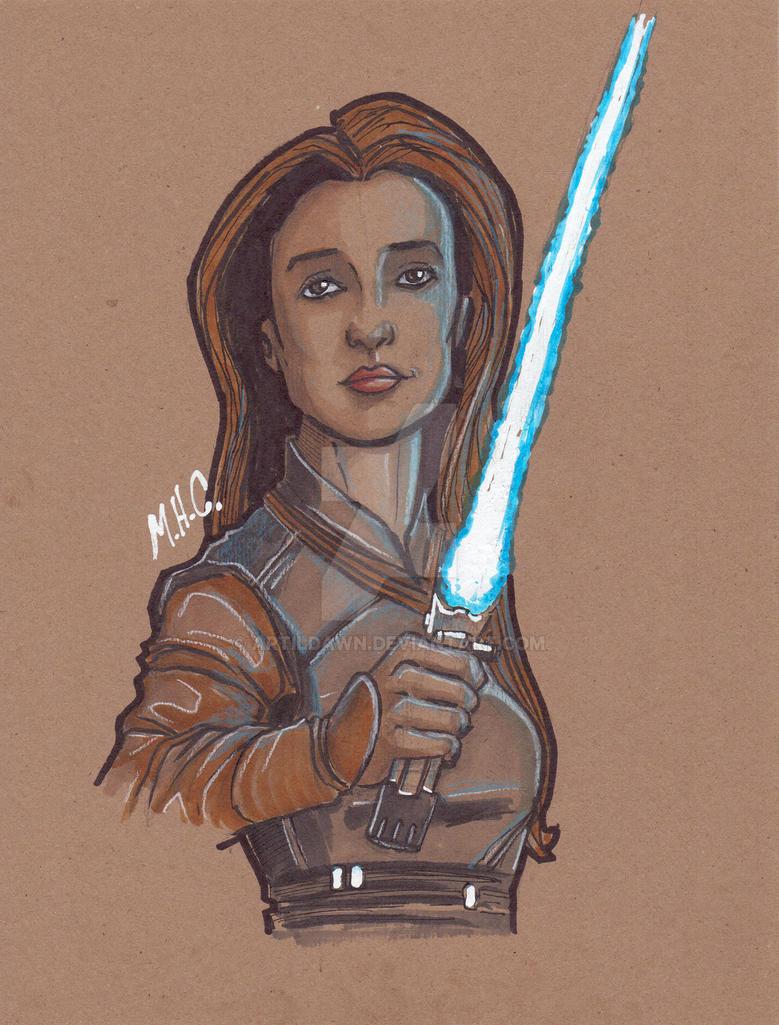Wen Jedi by artildawn