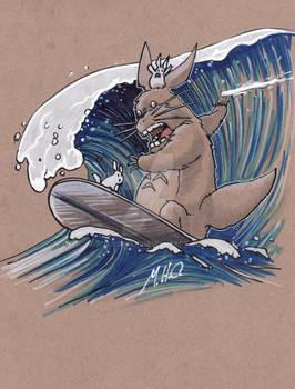 Surfin Totoro