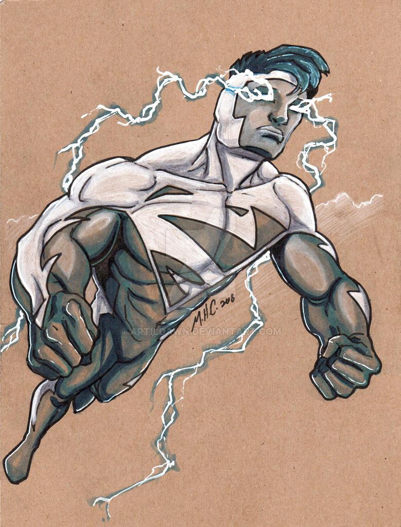 Superman Blue by artildawn