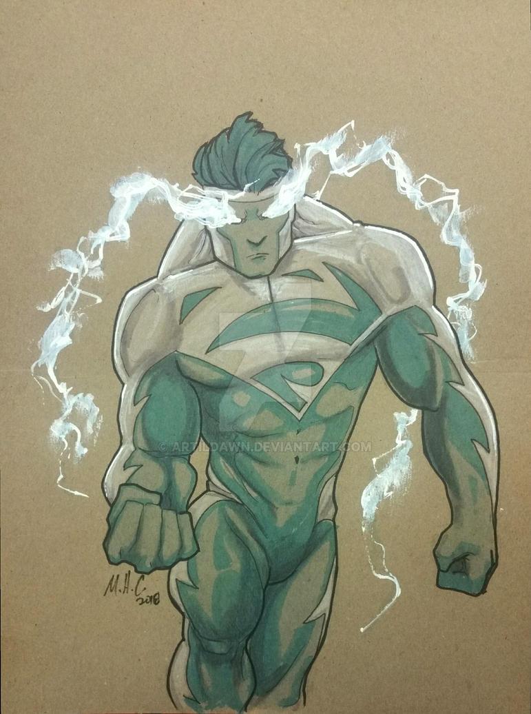 Comic Book Day - Superman Blue by artildawn
