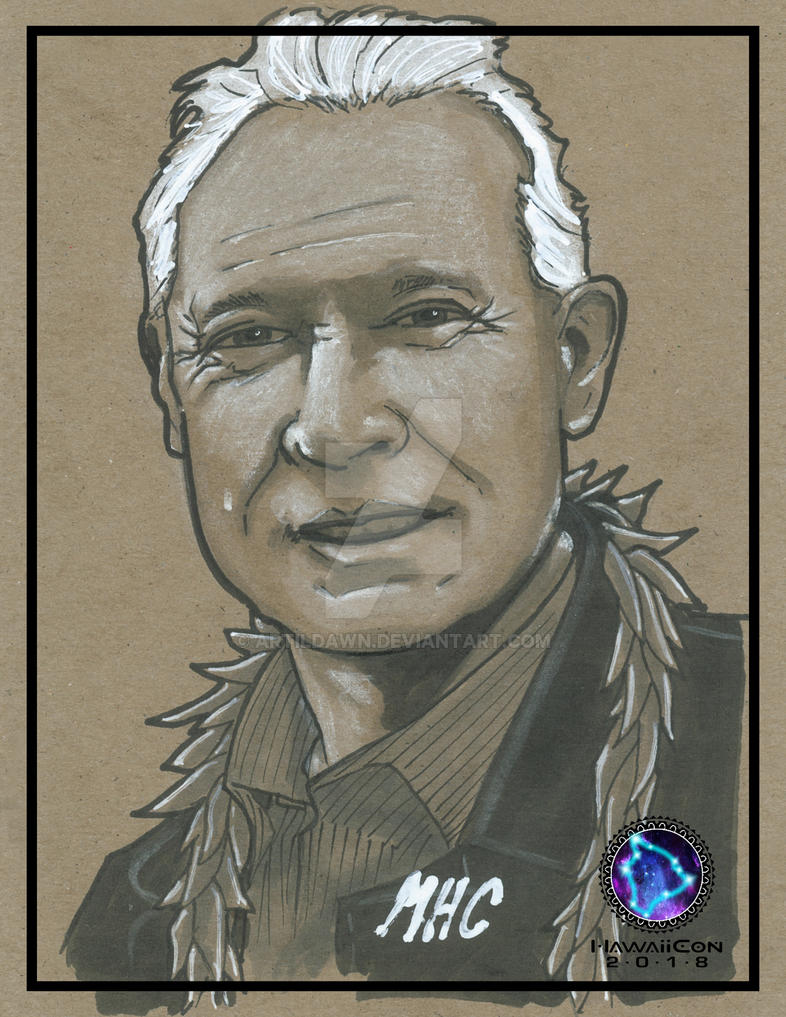 Terry Brooks by artildawn